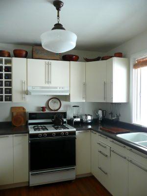 Ganar espacio en cocinas pequeñas